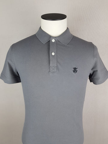 New Season Slim Fit Polo Grey By Selected
