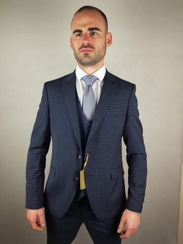 Robben 3 Piece Suit By Benetti