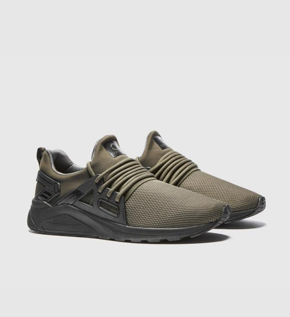 CT 8000 Khaki Sock Trainers By