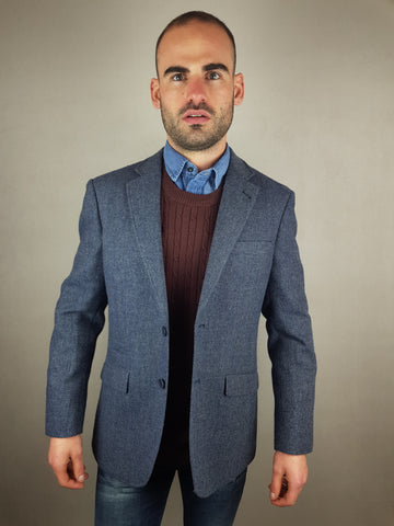 ICKLEY Blazer/Sports Jacket Blue By Skopes