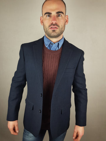 Thornton Navy Blazer/ Sports Jacket By Skopes *ML.YY*