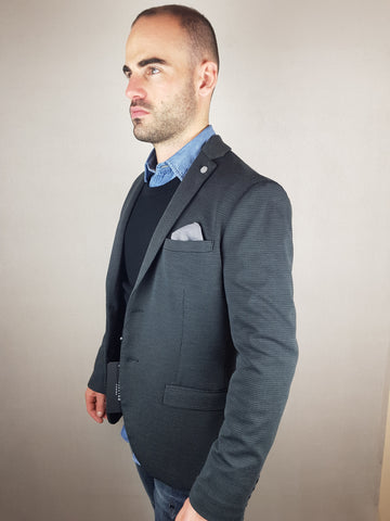 Carl Blazer Slim Fit Dark Grey By Selected