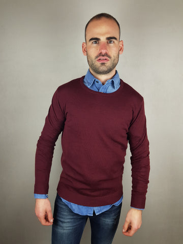 Tower Merino Wool Port Crew Neck Knitwear By Selected *OY.LM*