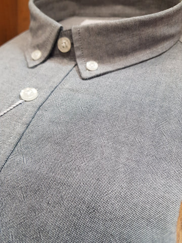 Harold Grey Casual Shirt By 6th Sense