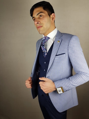 Keith 3 Piece Suit By Benetti