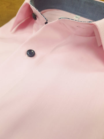 Plain Pink Formal Shirt By Marvelis 7216/34/32