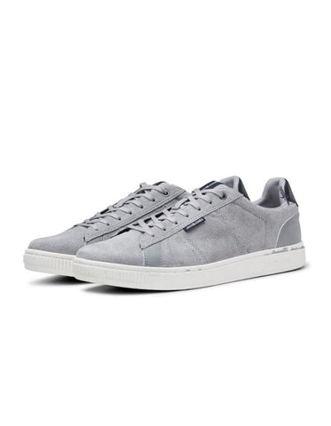 Wolly Nubuck Silver Trainers By Jack & Jones