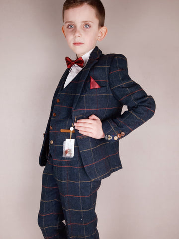 Eton Boys Suit By Marc Darcy