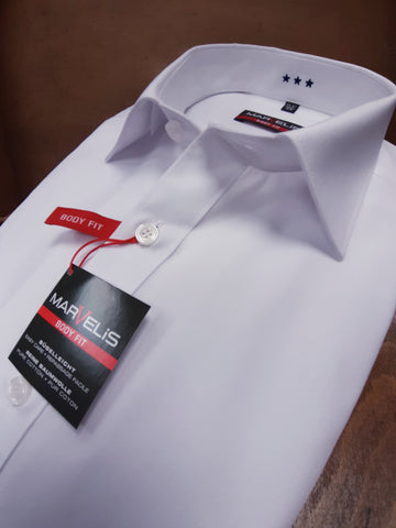White Body Fit Shirt By Marvelis 6799/64/00