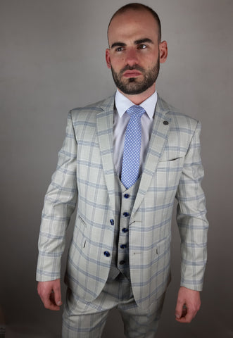 Buxton 3 Piece Suit By Marc Darcy