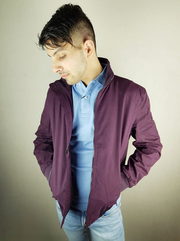 Burgundy Tom Casual Jacket By 6th Sense
