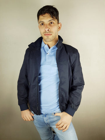 Navy Tom Casual Jacket By 6th Sense