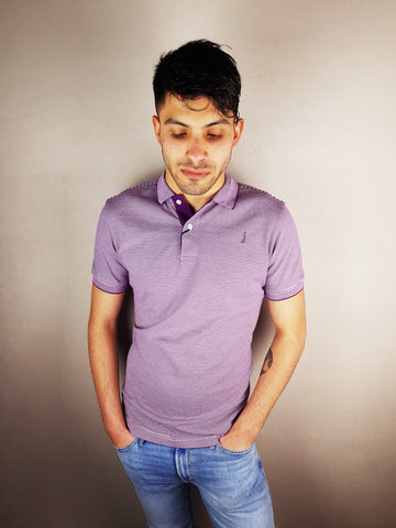 Lilac Conor Polo Shirt By 6th Sense