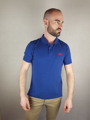Royal Driftline Polo Shirt By Helly Hansen