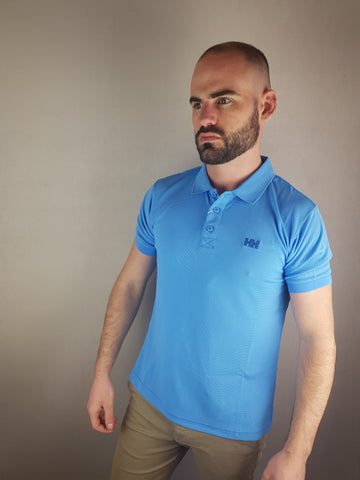 Blue Driftline Polo Shirt By Helly Hansen