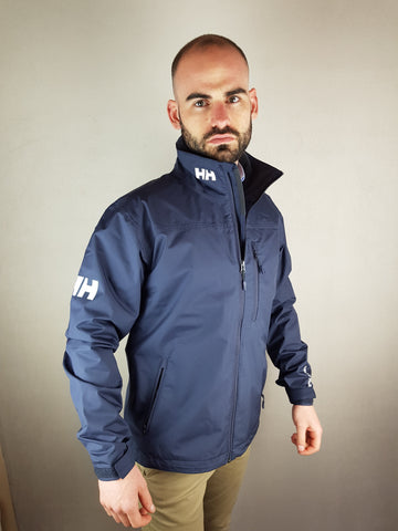 Navy Crew Jacket By Helly Hansen