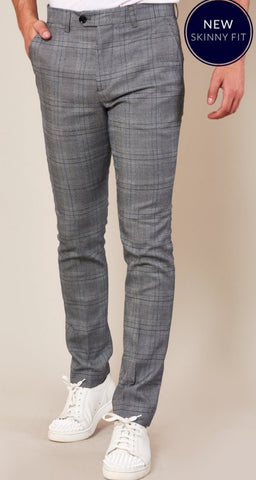 Jerry Skinny Fit Trousers By Marc Darcy
