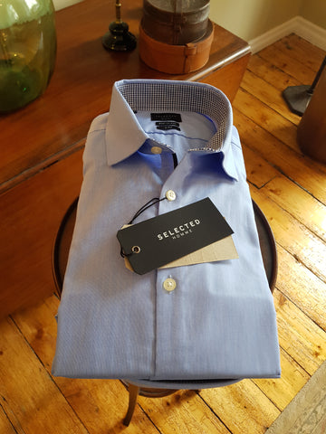 Mark Blue Shirt By Selected