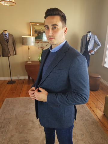 Gregger Teal Sports Jacket/blazer By Skopes