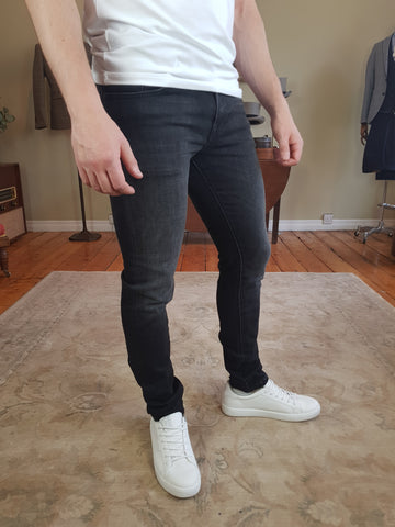 Leon Slim Black Jeans By Selected