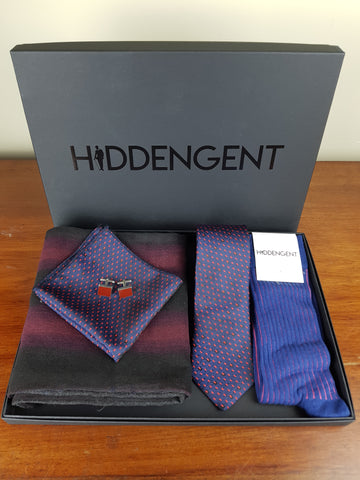 Amethyst Boxed Gift Set By Hidden Gent
