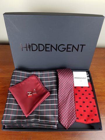 Ruby Boxed Gift Set By Hidden Gent