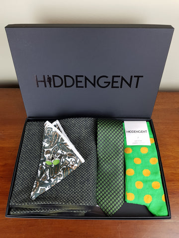 Emerald Boxed Gift Set By Hidden Gent