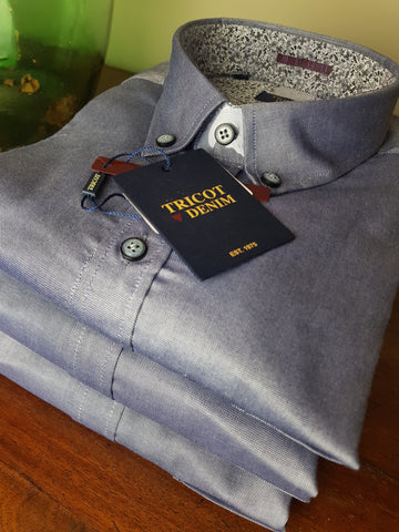 LO1 48 Oxford Cotton Shirt By Tricot Denim