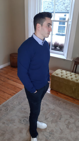 Dennis Blue Knitwear By Tricot Denim