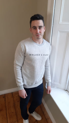 Snow Grey Sweater By Walker & Hunt