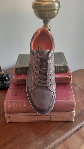 Smith Coffee Casual Shoe By 6th Sense