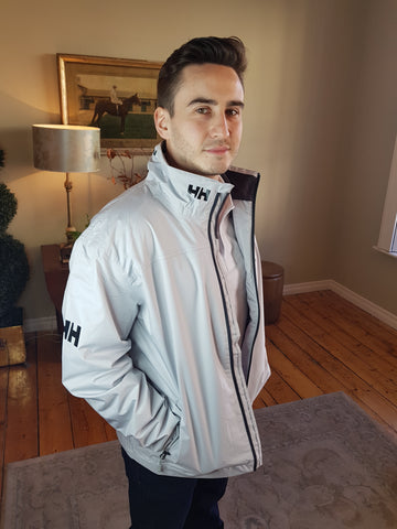 Crew Midlayer Grey Jacket By Helly Hansen