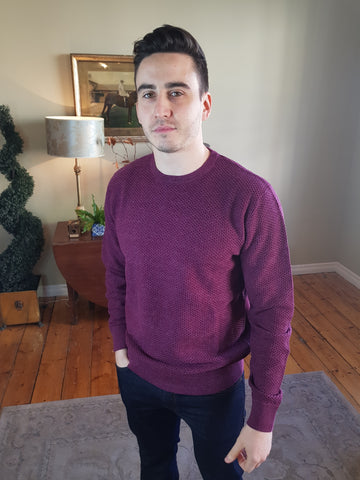 Emperor Wine Knitwear By 6th Sense