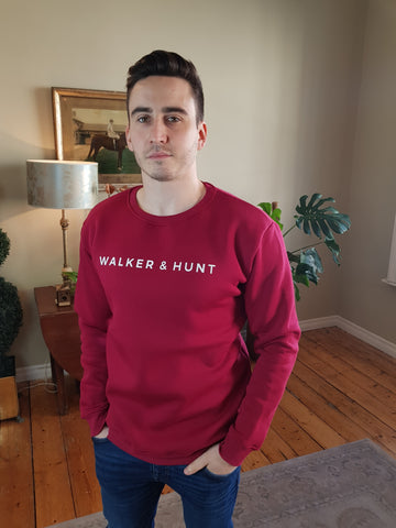 Burgundy Sweater By Walker & Hunt