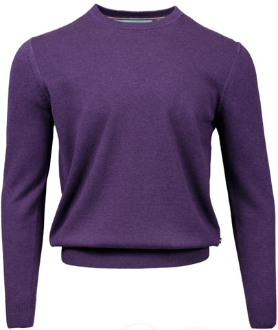 Achill Purple Knitwear By Andre