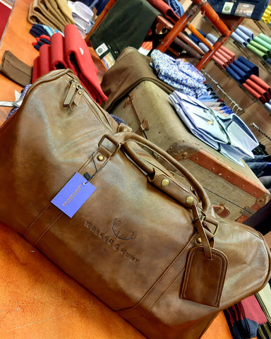Iveragh Heritage Weekender Bag By Walker & Hunt