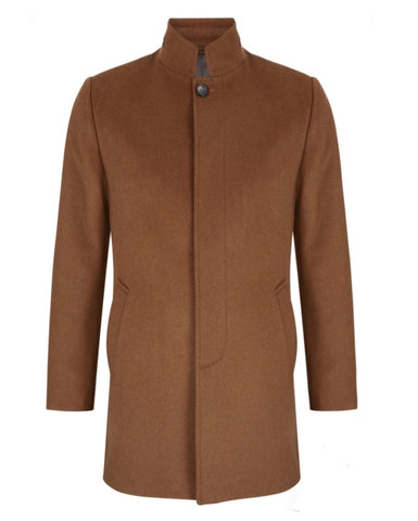 Ely Camel Coat By Benetti