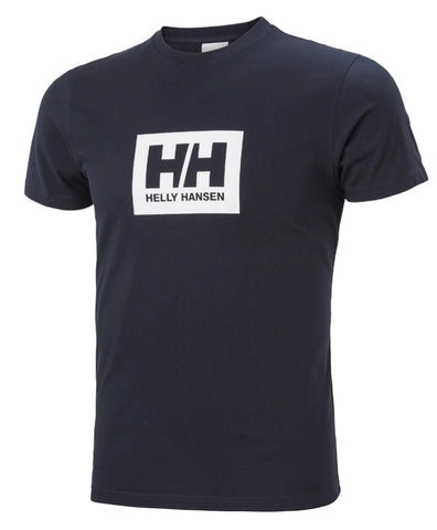 HH Navy Box T-Shirt By Helly Hansen