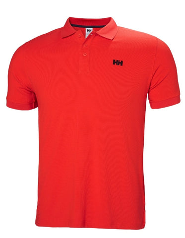 Driftline Red Polo Shirt By Helly Hansen
