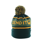 Early Bird Pom Beanie - Green