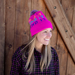Early Bird Pom Beanie - Pink