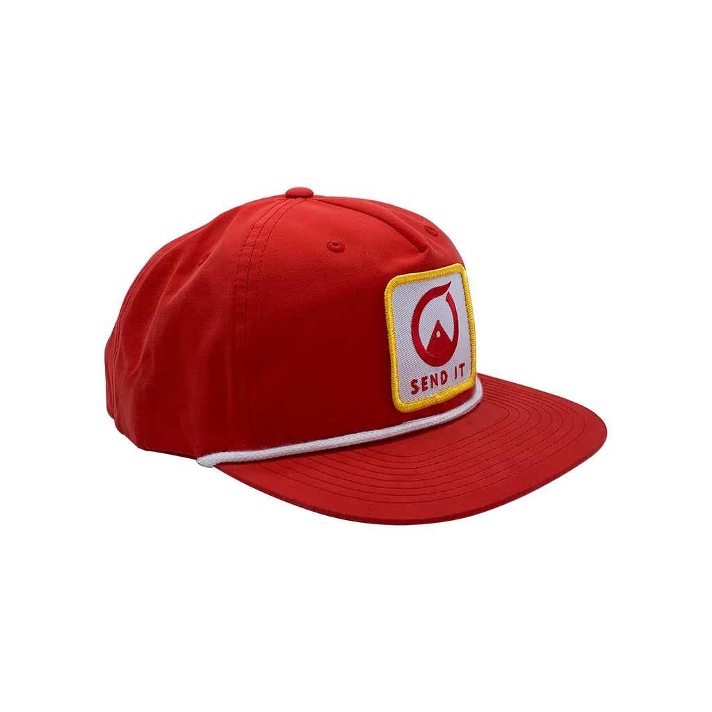 Tam Nylon Hat - Red