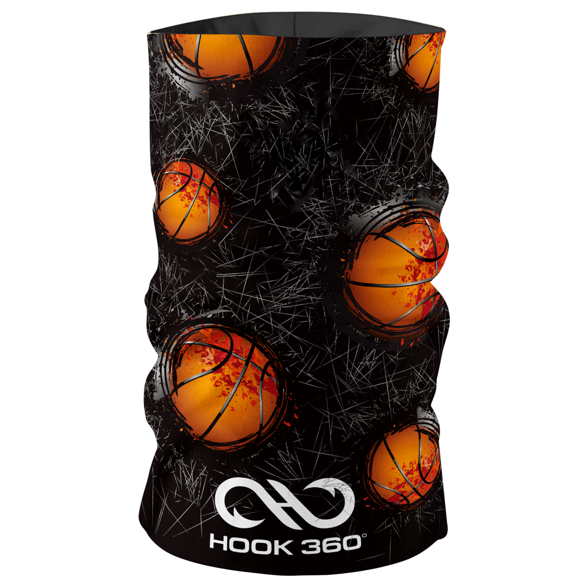 Kids Basketball Neck Gaiter (5366586966173)