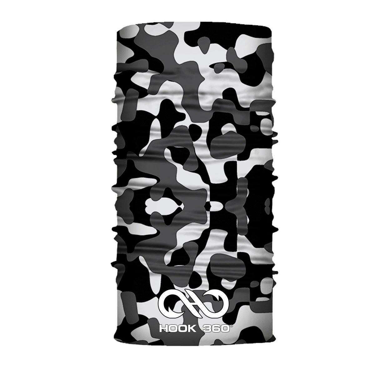 Black & White Camo Neck Gaiter (4472051466312)