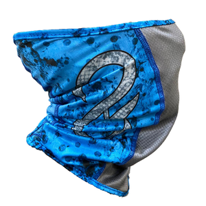 Pro Series Blue Grunge Neck Gaiter (4543244501064)