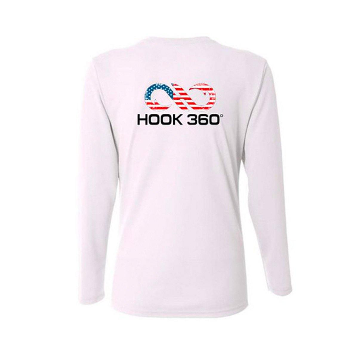 Women's American Flag Performance Shirt (4347957870664)