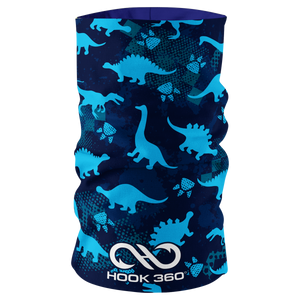 Kids Dinosaur Neck Gaiter (5366554591389)