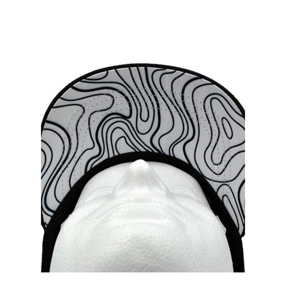 Topography Under Brim Snapback