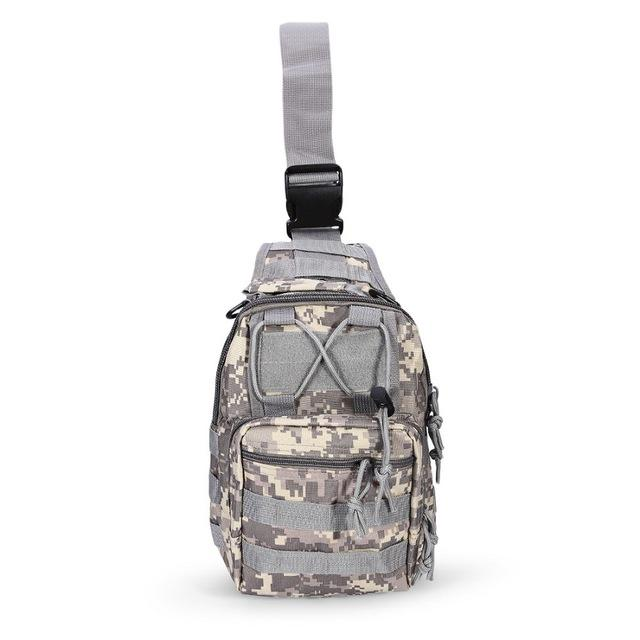 Tactical-Shoulder-Sling-Backpack-Chest-Bag-for-Outdoor-Hiking-Travel-Molle thumbnail 41