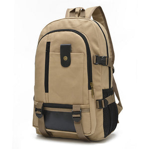 Tactical Canvas School Backpack